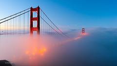 Fog (davidyuweb) Tags: fog sanfrancisco low lowfog battery spencer batteryspencer luckysnapshot sfist morning glowing 三藩市 霧 goldengatebridge classic classicview