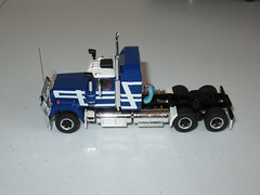 Highway Replicas - Mack Livestock Road Train (RS 1990) Tags: highwayreplicas livestock mack truck trailer roadtrain model 164 scale diecast adelaide australia march2017