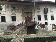 Entrance with staircase, Šarena džamija mosque, Travnik, Bosnia and Herzegovina (Paul McClure DC) Tags: travnik balkans feb2017 bosniaandherzegovina architecture mosque historic