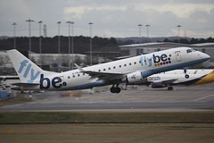G-FBJE Embraer EMB-175 BHX 01Feb17 (Citation Ten) Tags: gfbje e175 bee bhx