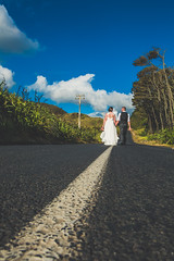 Just married (Digital Sublime) Tags: wedding marriage groom bride bridal bridalhair makeup portrait portraiture couple newlywedded husband wife nz pro newzealand auckland northisland southisland professional photographer weddingphotographer beautiful lovely pretty amazing outdoor cute beach groomsmen bridesmaid bridesmaids dance eyes bridalparty girls gown suit