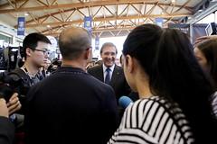 Pedro Passos Coelho em visita ao SISAB