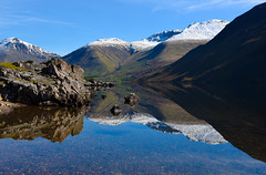 Wast Waters, Lake District (Michelle Tuttle) Tags: wast lake wastwaters reflection longexposure beautiful lakedistrict uk england countryside