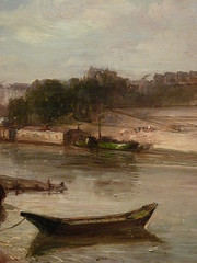 JONGKIND Johan Bartold,1853 - Vue de la Seine à Paris, le Pont-Royal et le Pavillon de Flore (Custodia) - Détail 12 (L'art au présent) Tags: art painter peintre details détails detalles painting paintings peinture peintures 19th 19e peinture19e 19thcenturypaintings 19thcentury detailsofpainting detailsofpaintings tableaux frenchpaintings peinturefrançaise frenchpainters peintresfrançais custodia paris fondation foundation france museum johanbartoldjongkind johan bartold jongkind johanbartold sky ciel house houses maison édifices built louvre paysage landscape pont bridge tree trees arbres nature seine bark barks barque quai warf notredame invalides nuages clouds horse cheval cgevaux horses animal animaux animals detail