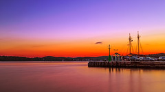 Serenity (PokemonaDeChroma) Tags: harbour longexposure dawn morning vibrant canon eos 6d 24105mm leebigstopper quiet serene july 2016 rovinj croatia rovignodistria istarka daybreak