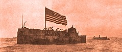 USS Maine - abandoned and sinking March 16, 1912 (SSAVE w/ over 7 MILLION views THX) Tags: ussmaine havana spanishamericanwar 1898 1912