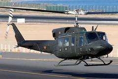 HU.18-14 (GH@BHD) Tags: hu1814 et275 bell agusta agustabell bell212 uh1 huey spanishairforce spanisharmy ace gcrr arrecifeairport arrecife lanzarote aircraft aviation helicopter chopper rotor