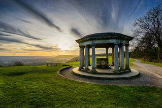 Sunset at Inglis Memorial