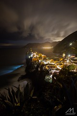 storm's break (Andrea Moraschetti Photography) Tags: ngc night storm sea marine clouds dark cleff wave village vernazza 5terre cinqueterre park italy italian landscape nightscape seascape view viewfromabove longexposure sky cloudy