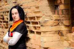 Android 17 - DBZ (Tsu Keehl) Tags: cosplay cosplays cosplayanime dbz dragonball dragonballandroid17 dragonballz dragonballzcosplay androgeny androgenie android17 androide17 crossplay crossplays crossplayers cosmaker photoshoot photoshootcosplay redribbon