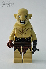 the tiny Defiler (what rough beast) Tags: lego azog azogthedefiler orc thehobbit toy thepaleorc stuff mylittlelife