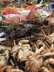 Marisco (Tony Prats) Tags: langosta buey de mar marisco pescado boqueria
