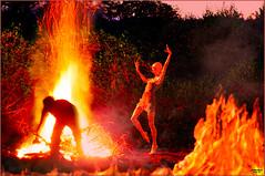 La noche del fuego (Damaz Real Fantasy) Tags: fire fuego noche nite night 3d
