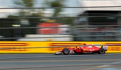 Ferrari F1 | Australian Grand Prix (Oscar Redfearn) Tags: ferrari cars car racing motorsport race speed pan panning melbourne f1 formula1 scuderiaferrari red nikon sports action