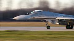 MiG-29 | Polish Air Force (f1_mirage) Tags: mig29 polish air force 38 epmm mińsk mazowiecki fulcrum smoker mikoyan gurevich 29 aviation airplane aircraft panning