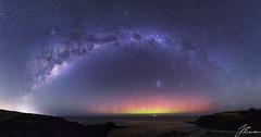 Aurora Australis | Flinders (Jake Richardson Photography) Tags: aurora australis milky way southern lights flinders blowhole melbourne australia victoria ocean stars lmc smc galaxy long exposure nikon d610