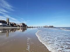 Seaside (mr_snipsnap) Tags: cromer norfolk sea seaside holiday resort nature coast sand beach