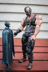 Bane, Have You Been Drinking? (misterperturbed) Tags: batman dccomics squareenix bane darkknight justiceleagueofamerica jli dcdirect playartskai
