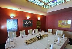 """SALA MAŁA 1 -Farby dekoracyjne zabezpieczone polimerem Stone Tone II. Restauracja Atlantyda przy hotelu Nowy Dwór w Zaczerniu. • <a style=""""font-size:0.8em;"""" href=""""http://www.flickr.com/photos/48080832@N02/8771845214/"""" target=""""_blank"""">View on Flickr</a>"""