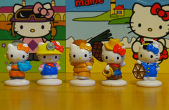 5 More America the Beautiful Series 1 mini-figures (Jay Tilston) Tags: hello beautiful america 1 blind box kitty mini figure series