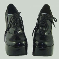 0.35 Inch High Heel Coffee Lolita Shoes (ocrun_lolita) Tags: coffee high inch shoes lolita heel 035