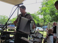 Czechaholics accordion man (polkabeat) Tags: church boys picnic czech polka ennis czechaholics polkabeat