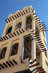 The Wind Tower (azahar photography) Tags: bahrain arab manama windtower