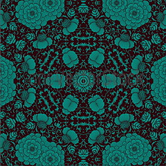 thumb_original_resize (2) (23) (oneVectorStock.com) Tags: old wallpaper abstract flower texture floral silhouette illustration vintage tile design leaf pattern graphic antique decorative background decoration creative victorian silk royal retro foliage textile fabric grapes rod backdrop venetian curl outline ornate curve baroque ornamental decor vector renaissance seamless revival repeating drapery damask