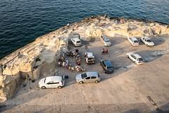 Picnic (8#X) Tags: ocean sky people urban sun nature water car europa europe malta transportation valletta nohdr