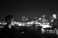 (themodulorman) Tags: nyc newyorkcity longexposure summer brooklyn nightlights manhattan eastriver williamsburg williamsburgbridge