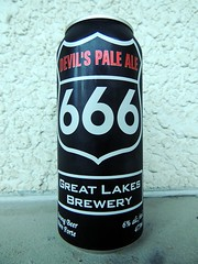 Devil's Pale Ale (knightbefore_99) Tags: toronto beer real cerveza 666 ale craft can greatlakes strong camra pivo on devilspaleale