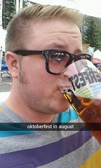 Snowbird Oktoberfest (isaacdammit) Tags: beer utah afternoon sunday drinking oktoberfest mug delightful snowbird blackbier streamzoo