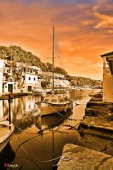 Cala Figuera (Mallorca) (Esteve Roca) Tags: espaa marina mar spain holidays colores mallorca horizonte majorca illesbalears calafiguera islasbaleares takenwithlove esteveroca