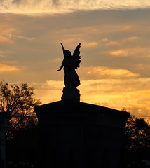 Carrollton- angel at daybreak