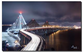 Bye Bye, Bay Bridge S curve, San Francisco, CA
