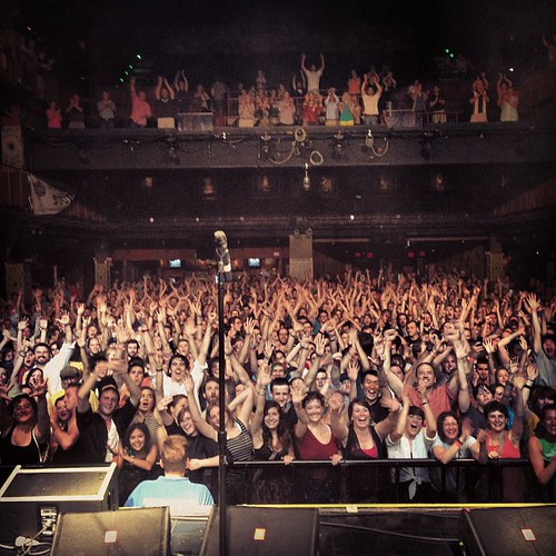 #Boston - Sweet crowd!!