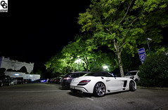 Night view (Corentin Gouchon Photographie) Tags: summer fab holiday annecy ex canon lens photography eos mercedes benz design dc photographie sigma august 1020 sls amg roadster corentin f456 hsm 2013 550d worldcars gouchon
