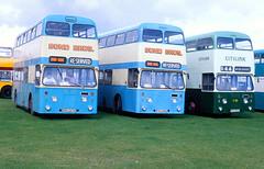 1994-08-29 PRH 247G, PRH 248G, PRH 255G Leyland Atlantean-Roe of Bond Bros and Preserved,  Seaburn (delticalco) Tags: bus buses independent hull khct northeastindependent