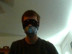 131017-124418 (HeldDown) Tags: duct bondage tape ducttape gag blindfold gagged ducttaped blindfolded bonded bandanda malebondage tapegag
