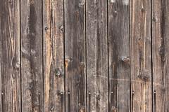 Planked Wall (gripspix (catching up slowly)) Tags: wood texture germany bayern deutschland bavaria franconia franken holz weatherd verwittert planked prichsenstadt tetxur 20130821