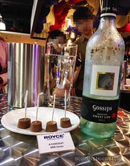 Royce Chocolate and Wine Tasting (nicootan) Tags: dark dessert hokkaido wine sweet chocolate review malaysia hippie cocoa gypsy royce bitter mild sweetlips
