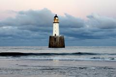 Dusk at Rattray Head (iancowe) Tags: lighthouse beach st scotland dusk head scottish led stevenson fergus gloaming fraserburgh peterhead rattray nlb crimond