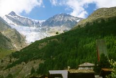 Saas-fee ......et  les Gantes  blanches (luka116) Tags: nature berg montagne schweiz switzerland suisse swiss relief svizzera paysage moutain wallis valais montagnes saasfee