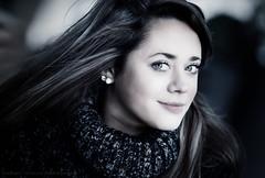 Lisa (Sylvain_Latouche) Tags: blue light shadow portrait eye nikon ambientlight 85mm reflector d800 salondelaphoto sylvainlatouche lisaleme