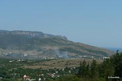 Крым, вид с Сапун-горы