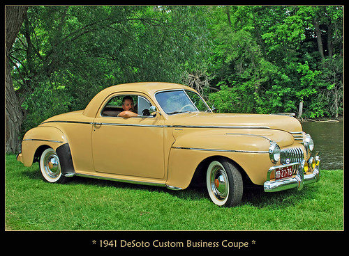 1941 DeSoto Business Coupe