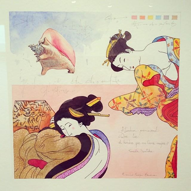 """""""La Femineidad del Oriente"""" • """"El Diálogo, el Pastiche y la Memoria"""" #muestra individual de Ramiro Pareja Herrera #arte #arteenlima #art #artinlima #artist #artista #pintura #painting"""