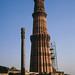 Qutab Minar and Iron Pillar, Delhi, 1988