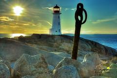 Lighthouse & Anchor- Peggy's Cove, Nova Scotia (David L'Oiseau) Tags: lighthouse novascotia anchor peggyscove davidloiseau ortusphotographic
