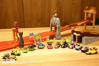 【得獎名單公佈】怒踩油門~ Angry Birds Go! 玩具 & 電玩 合體甩尾狂飆啦!!!